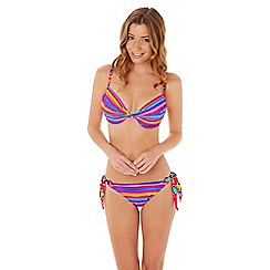 Lepel - Sunkiss stripe twist plunge