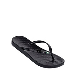 Ipanema - 'Beach' black flip flop