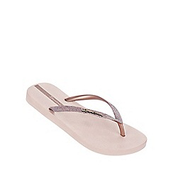 Ipanema - 'Sparkle' light pink flip flop