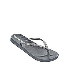 Ipanema - 'Mesh' grey flip flop