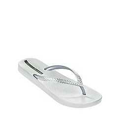 Ipanema - 'Mesh' off-white flip flop