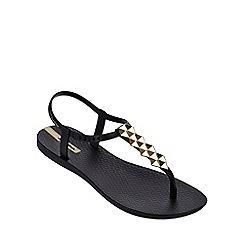 Ipanema - 'Cleo' gold flip flop