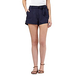 Beach Collection - Navy twill shorts