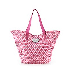 Floozie by Frost French - Pink heart tote bag