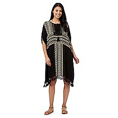 Butterfly by Matthew Williamson - Black aztec kaftan
