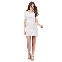 Beach Collection - White crochet dress