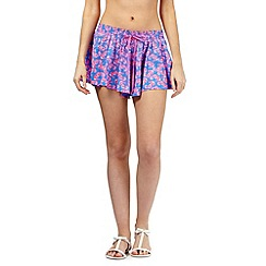 Floozie by Frost French - Blue seahorse print shorts