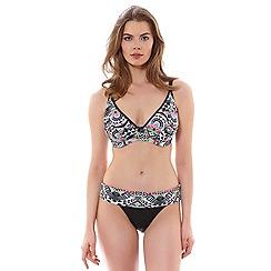 Freya - Zodiac plunge bikini top