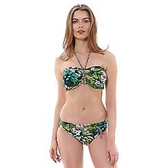 Freya - Rumble bandeau bikini top