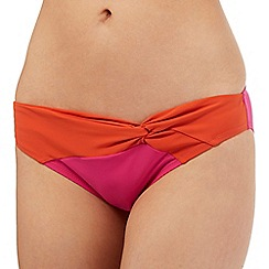 J by Jasper Conran - Multi-coloured colour block bikini bottoms