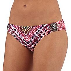 Butterfly by Matthew Williamson - Pink Aztec print bikini bottoms