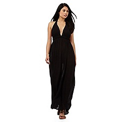 Red Herring - Black maxi dress