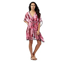 Butterfly by Matthew Williamson - Pink tie dye kaftan