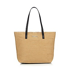 Floozie by Frost French - Beige straw shoulder bag