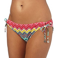Mantaray - Multi-coloured zigzag print bottoms
