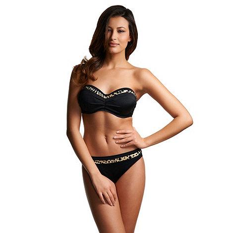 Fantasie - Black +mauritius+ mid rise bikini briefs