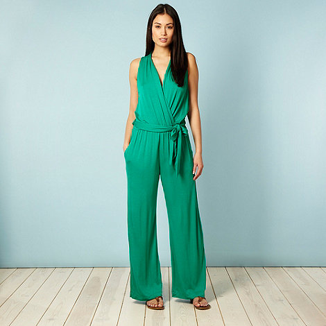 J by Jasper Conran - Green jersey jumpsuit
