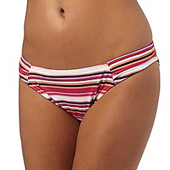 Beach Collection - Multi-coloured striped print bottoms