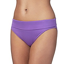 Beach Collection - Purple fold bottoms