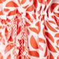 Principles by Ben de Lisi - Red semicircle printed kaftan Alternative 2