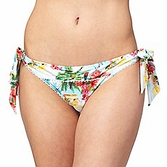 Floozie by Frost French - Multi-coloured island print bikini bottoms