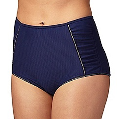 Floozie by Frost French - Navy high waisted bikini bottoms