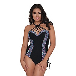 Curvy Kate - Black 'Galaxy' swimsuit