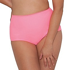 Curvy Kate - Flamingo 'Jetty' high waisted brief