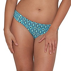 Curvy Kate - Aqua 'Revive' fold over brief