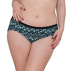 Curvy Kate - Floral Print 'Reflex' bikini bottoms