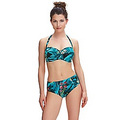 Fantasie - Seychelles Deep Gathered Brief Style