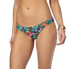 Butterfly by Matthew Williamson - Multi butterfly print bikini bottoms