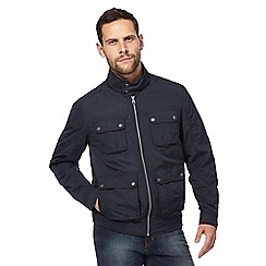 RJR.John Rocha - Navy Harrington jacket