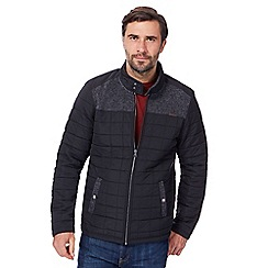 RJR.John Rocha - Black quilted fleece lined jacket
