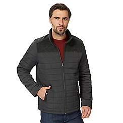 RJR.John Rocha - Khaki quilted fleece lined jacket