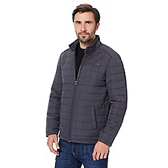RJR.John Rocha - Big and tall grey quilted fleece lined jacket