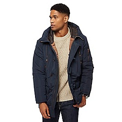 RJR.John Rocha - Navy hooded parka