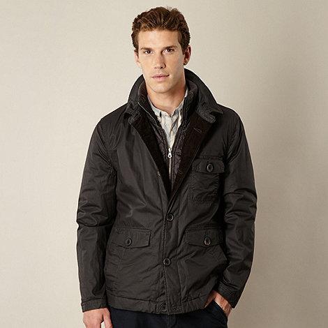 RJR.John Rocha - Big and tall brown lightly padded jacket