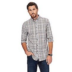 RJR.John Rocha - Multicoloured checked tailored fit shirt