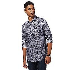 RJR.John Rocha - Grey floral print shirt