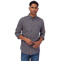 RJR.John Rocha - Brown gingham check shirt