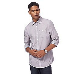 RJR.John Rocha - Big and tall lilac textured shirt