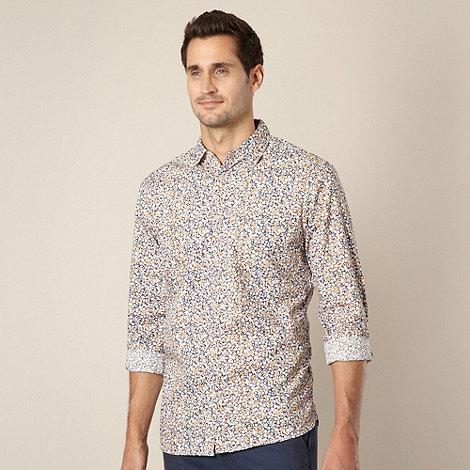 RJR.John Rocha - Designer mustard floral shirt