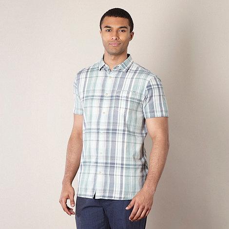 RJR.John Rocha - Designer pale green checked shirt
