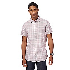 RJR.John Rocha - Big and tall pink checked shirt