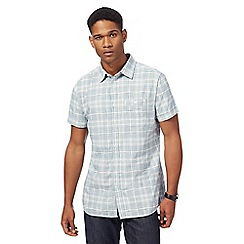 RJR.John Rocha - Blue checked shirt