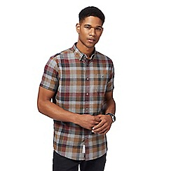 RJR.John Rocha - Multi-coloured grid checked shirt