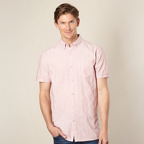 RJR.John Rocha - Designer rose hexagon textured shirt
