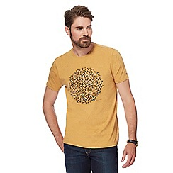RJR.John Rocha - Yellow spotted circle print t-shirt