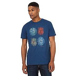 RJR.John Rocha - Blue circle print t-shirt